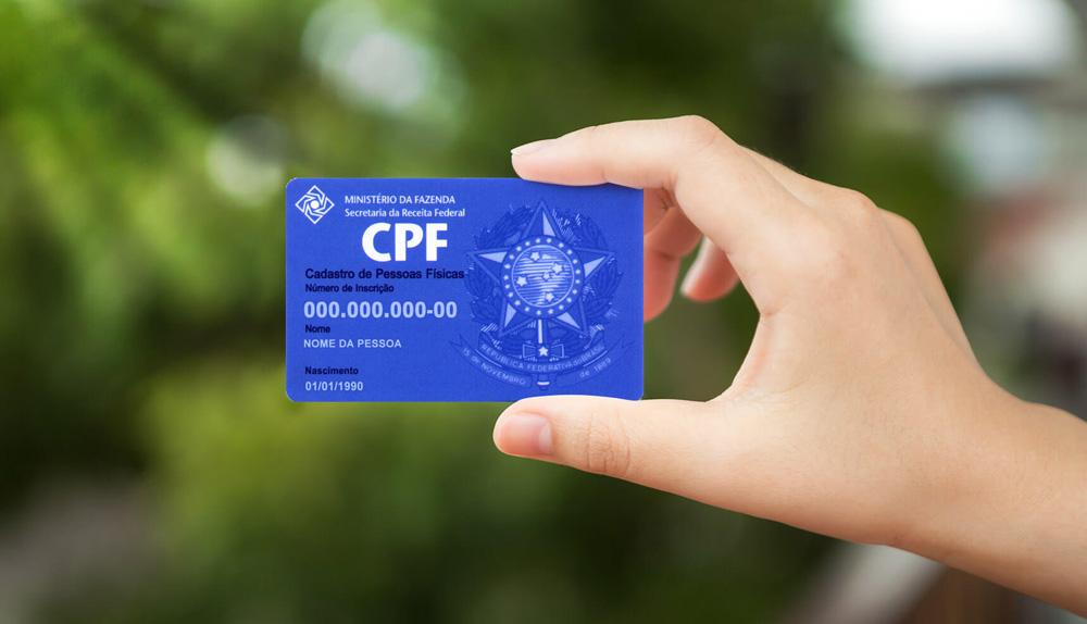 Como tirar segunda via do CPF